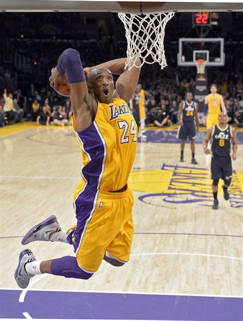 bryant best dunks bryant gets for a dunk during lakers practice