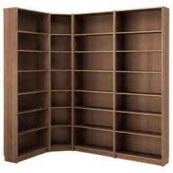 billy bookcase brown ash veneer 215 135x237x28 cm ikea