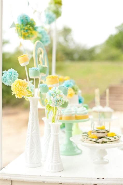 Neutral Baby Shower Themes by Kara S Ideas Sea Side Gender Neutral Baby