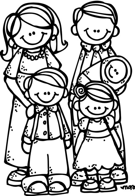 lds coloring pages of family melonheadz lds illustrating new eternal family graphics