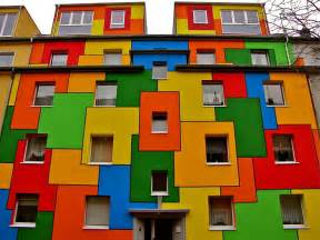 colorful house post the world s most colorful buildings bored panda