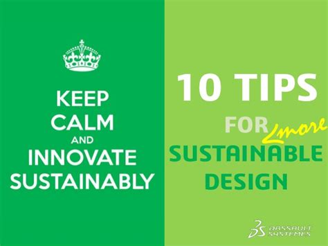 10 tips for designing a keep calm and innovate sustainably 10 tips for
