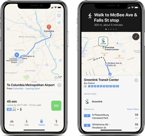 Hopstop Subway Directions Now Available For Your Phone by Apple Maps Transit Directions Now Available In Columbia