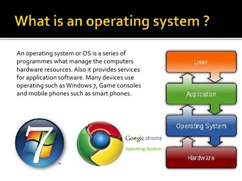 the purpose of an operating system