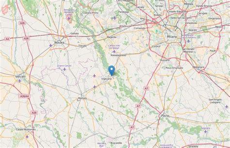 terremoto pavia oggi terremoto lombardia lieve scossa nella zona di vigevano