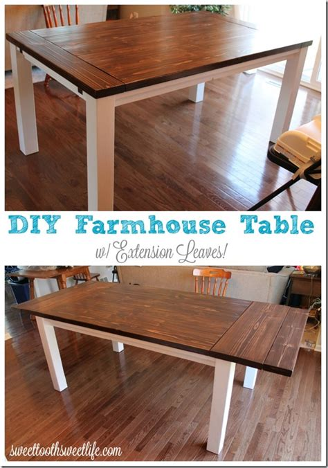 build table removable legs how to build a farm table with removable legs