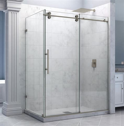 shower sliding door hardware 5ft 6 6ft frameless sliding shower door hardware shower