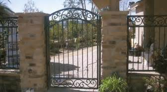 Decorative Iron Gates by Custom Wrought Iron Stair Railings La Habra Ca