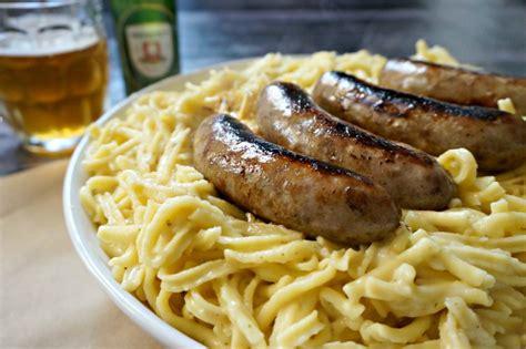 german comfort food german comfort food recipes k 228 se spaetzle with beer