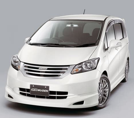 cars pictures information  honda freed mugen review
