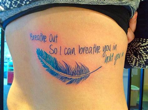 dave grohl feather tattoo everlong breathe out so i can breathe you in hold