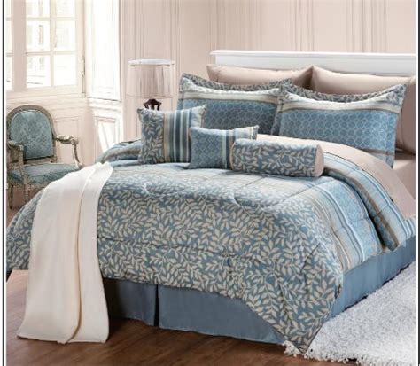 Find Cheap Price 12 Pc Modern Aqua Comforter Set Bed In A Affordable Bed In A Bag Sets