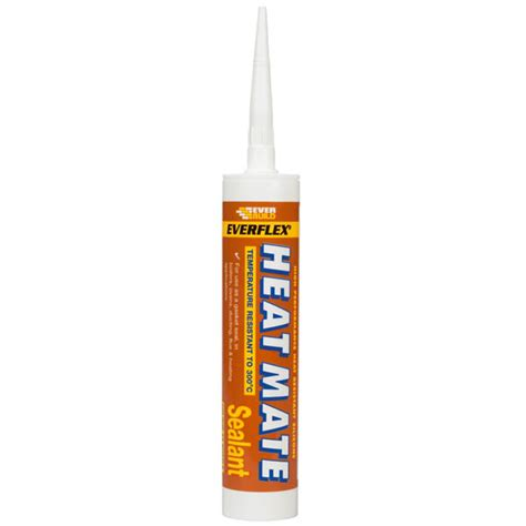 Heat Proof Sealant Fireplace by Heat Mate Heat Resistant Silicone Sealant Use With