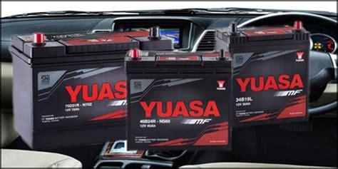Harga Aki Merk Yuasa 4 merk aki kering mobil terbaik untuk mobil kesayangan