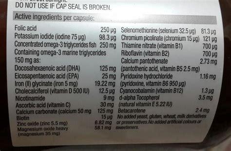 Vitamin Folamil Genio blackmores pregnancy vs folamil genio ibuhamil