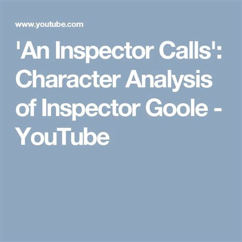 analysis of an inspector calls characters the 25 best an inspector calls analysis ideas on