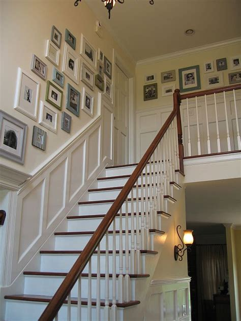 staircase wall design 5 ways to decorate with collages