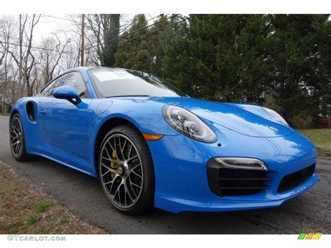 voodoo blue paint to sle 2016 porsche 911 turbo s coupe exterior photo 110065660 gtcarlot