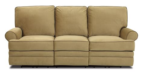 reclining settee power dual reclining sofa by klaussner wolf and gardiner