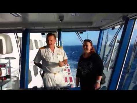 cabina di comando nave un saluto a liveboat dal ponte di comando di epic