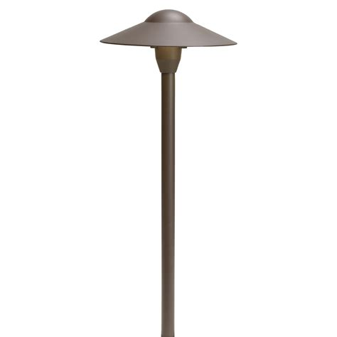 kichler landscape textured architectural bronze path light
