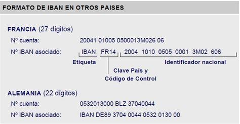 banca iban 191 qu 233 s es un iban c 243 digo internacional de cuenta bancaria