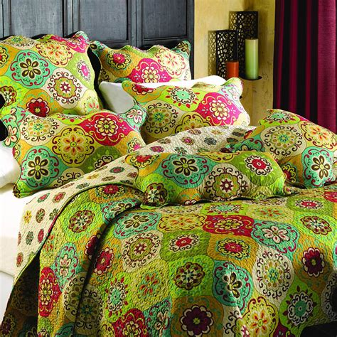 Patchwork Comforters - amercian country cotton bedding set bed cover vintage