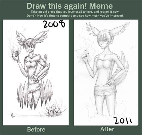 Draw This Again Meme Fail - draw this again meme by luvzkittenz on deviantart