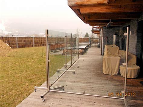 kerzenständer für terrasse zaun glas dekor