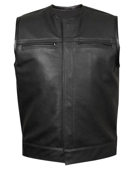 leather vest s leather vests archives espinoza s leather