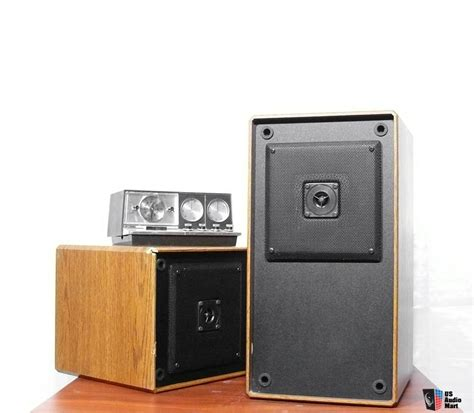 vintage dcm cx 17 2 way 100 w monitor bookshelf speakers