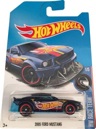 Wheels 2005 Ford Mustang Hw Race Team Hotwheels 2005 ford mustang wheels 2017 treasure hunt