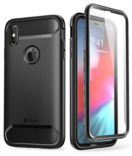 iphone xs max clayco xenon series rugged with built in screen 810001760250 ebay