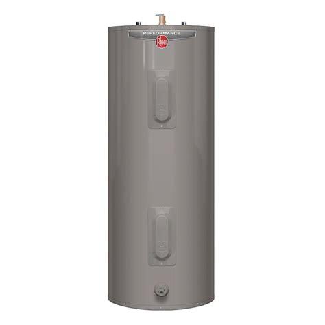 Water Heater Rheem rheem performance 50 gal 6 year warranty electric water