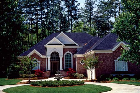 Houseplans And More by Cabot Georgian Ranch Home Plan 129d 0017 House Plans And