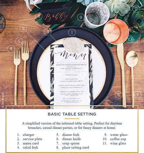 basic table setting table setting rules a simple guide for every occasion