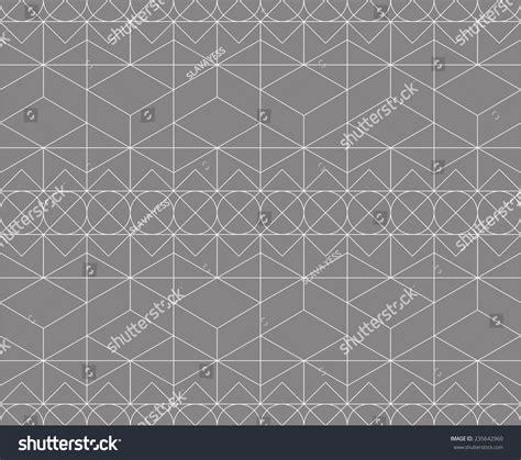pattern magic italiano magic pattern made 4 basic shapes stock vector 235642960