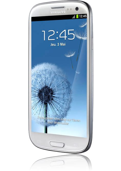mobile samsung s3 samsung galaxy s3 blanc smartphone android 4 0 ics