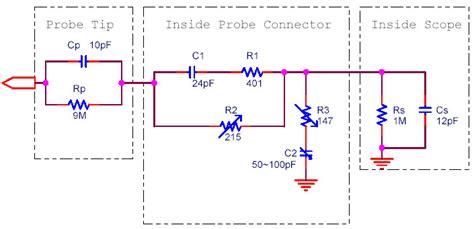 probe circuit diagram scope probe circuit diagram circuit and schematics diagram