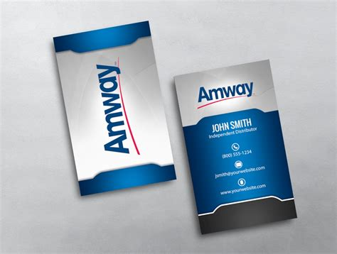 amway business card template amway business card 14