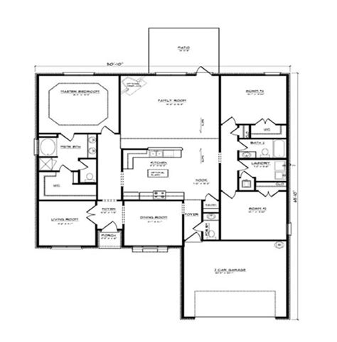 dr horton single story floor plans davenport floor plan