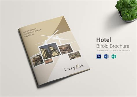 hotel brochure templates 30 beautiful exles of inviting hotel brochures