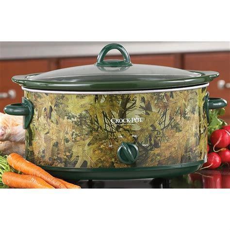 Rival® Camo Crock   Pot®   203096, Kitchen Appliances at