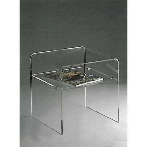tables de chevet plexiglas table de lit
