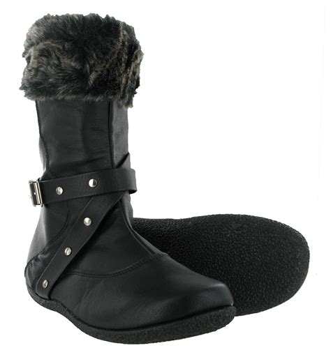 new small goody2shoes black pixie mid calf fur top