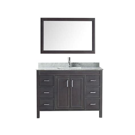 Studio Bathe Vanity by Studio Bathe 42 In Vanity In Espresso With Marble