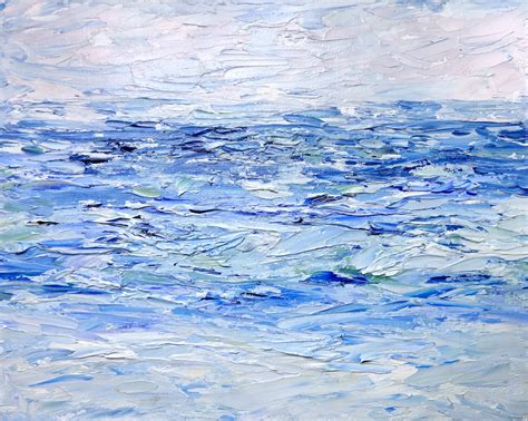 ocean blue paint sea dean paint a masterpiece ocean blue drying an oil
