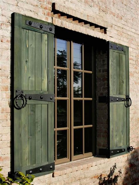 17 Best Ideas About Exterior Shutters On Pinterest Wood