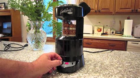 Roasting Coffee Beans with the Fresh Roast SR500   YouTube