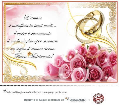 frasi di auguri per matrimoni biglietto con frase auguri matrimonio